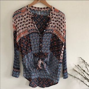 Free People blouse small